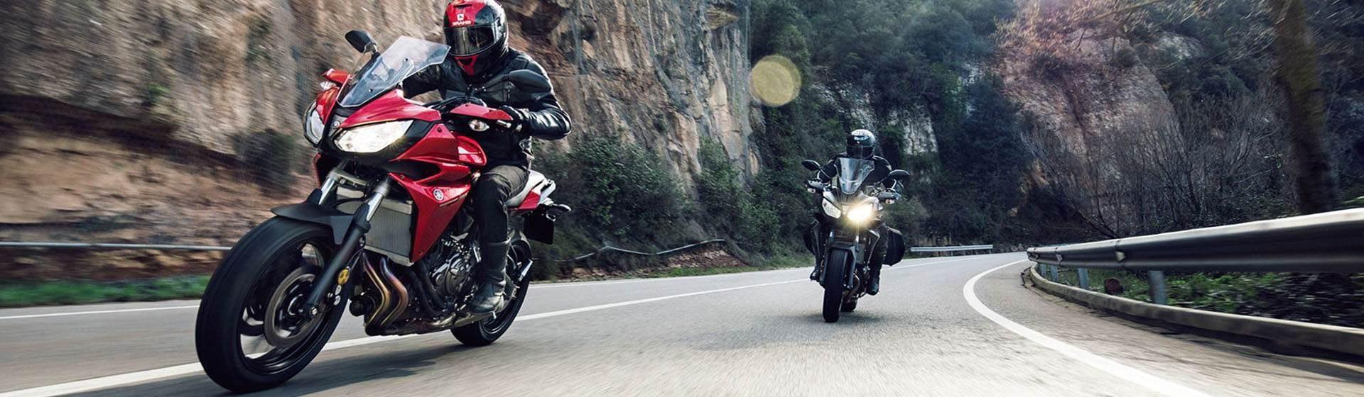 אופנוע כביש אדום למכירה